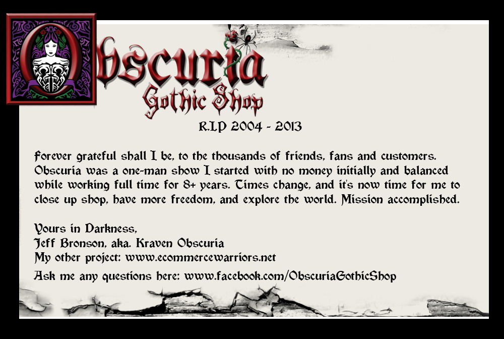 Obscuria - Darkly Unique Offerings